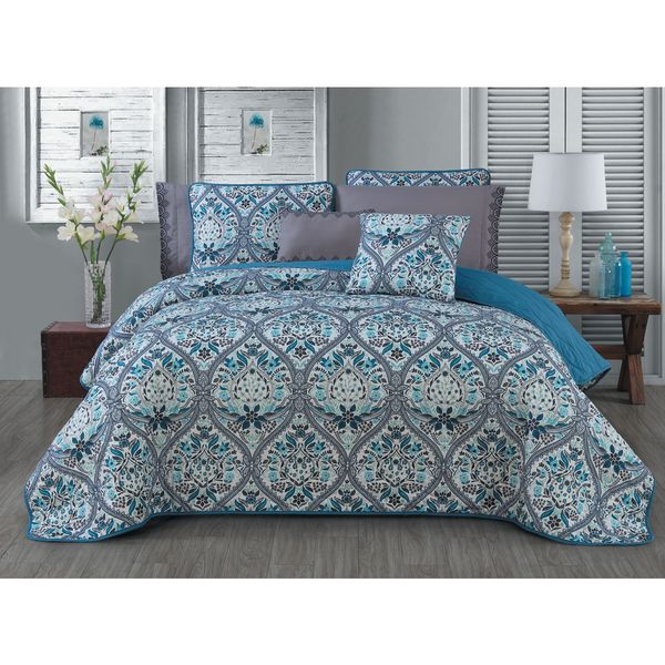 Avondale Manor Daphne Microfiber 7-piece Quilt Set
