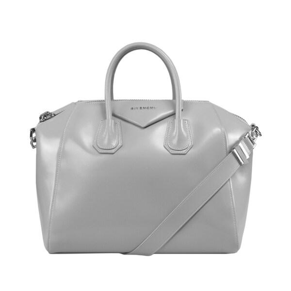 Givenchy Shoulder Bag for Women, Antigona, Silver, Leather, 2017, one size