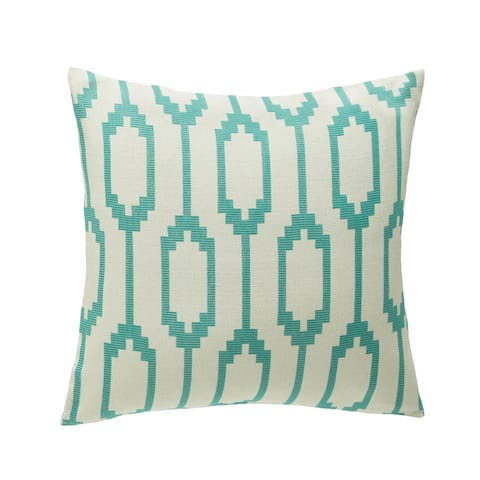 Alameda Decorative 22-inch Feathered Filled Accent Pillow by Michael Amini