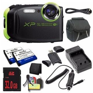 Fujifilm FinePix XP80 Deluxe Camera Bundle