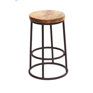 Urban Port Chic Circular Top Jaden Counter Stool