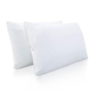 LUCID 100-percent Waterproof Pillow Encasement Protector (Set of 2)