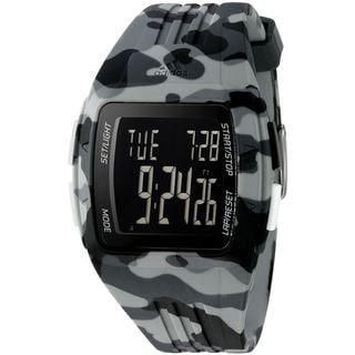 Adidas Unisex ADP3226 'Duramo' Camouflage grey Silicone Watch