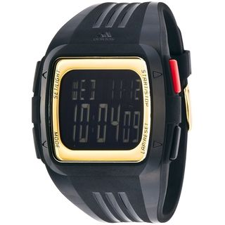 Adidas Men's ADP6135 'Duramo' Black Silicone Watch