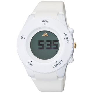 Adidas Men's ADP3204 'Sprung' White Silicone Watch