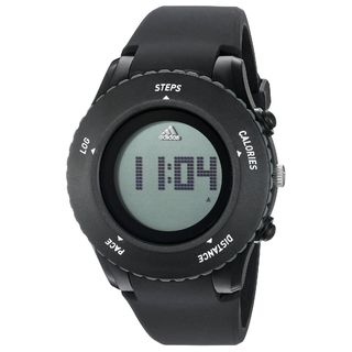 Adidas Men's ADP3203 'Sprung' Black Silicone Watch