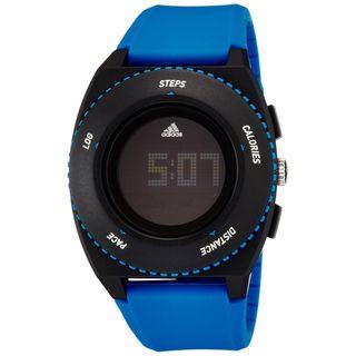 Adidas Men's ADP3201 'Sprung' Blue Silicone Watch