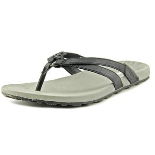 Patagonia Women's Poli Thong Black Leather Sandals