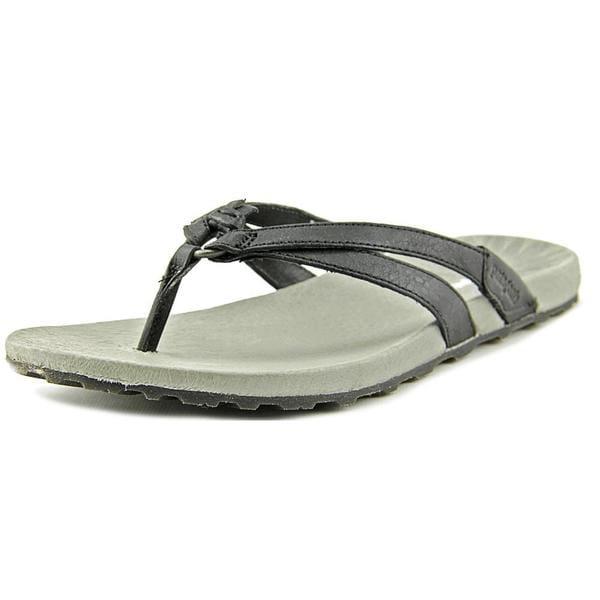 82371e9800e Shop Patagonia Women s Poli Thong Black Leather Sandals - Free ...