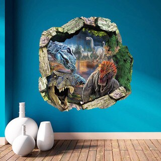 HomeSource 'Into the Dino World' Removable Wall Decal