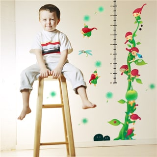 Home Source 'Growing Elves Growth Chart' 10-inch x 28-inch Removable Wall Graphic