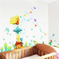 Home Source 'Magical World of Magical Elves' 10-inch x 28-inch Removable Wall Graphic