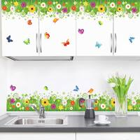 HomeSource 'Bordering Meadow' 16-inch x 24-inch Removable Wall Graphic