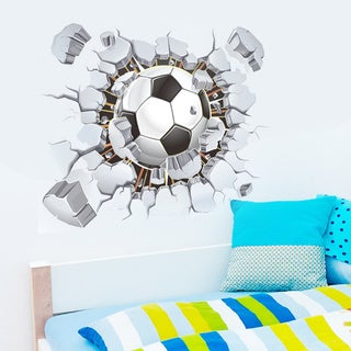 Home Source Soccer Pennant Removable Wall Decal