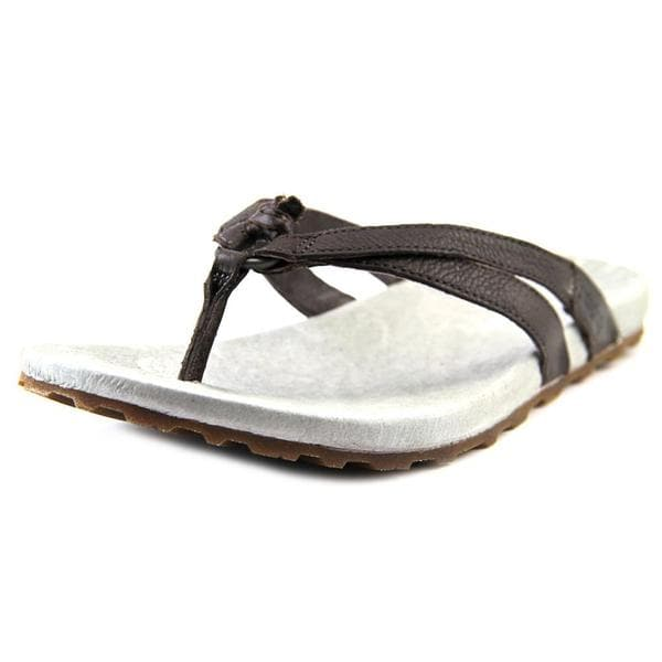 37cbad548a7 Shop Patagonia Women s Poli Thong Brown Leather Sandals - Free Shipping On  Orders Over  45 - Overstock - 12009272