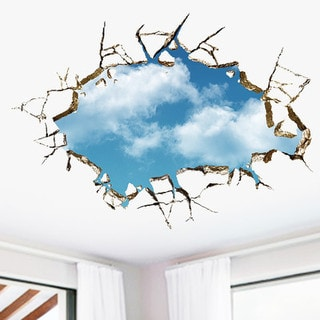 HomeSource 'Breakthrough Sky' Removeable Wall Decal