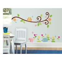 HomeSource Single Branch of Who is Your Friends 20-inch x 28-inch Removable Wall Graphic