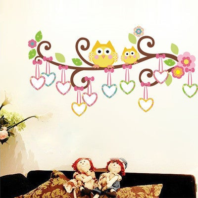HomeSource Branch of Love 20-inch x 28-inch Removable Wall Graphic Decal