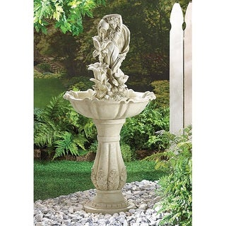 Healy Fairy Maiden Standing Water Fountain