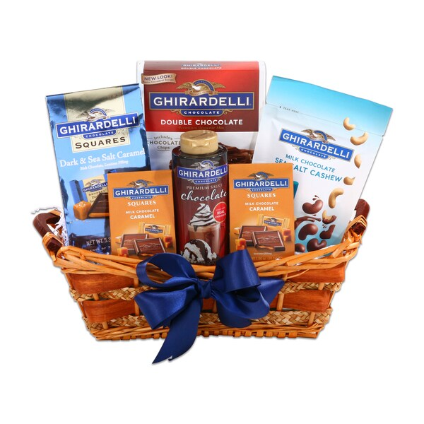 Ghirardelli Chocolate Brownie Delight Gift Basket