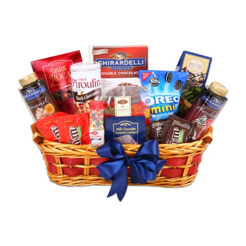 Alder Creek Gifts Ultimate Iced Cream Sundae Gift Basket