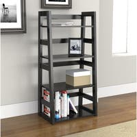 Porch & Den Logan 4-tier Trestle Bookcase