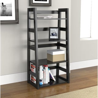 Porch & Den Bywater Galvez 4-tier Trestle Bookcase (2 options available)