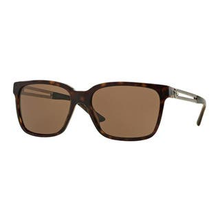 Versace Men's VE4307 108/73 Brown Plastic Square Sunglasses|https://ak1.ostkcdn.com/images/products/12009380/P18886062.jpg?impolicy=medium