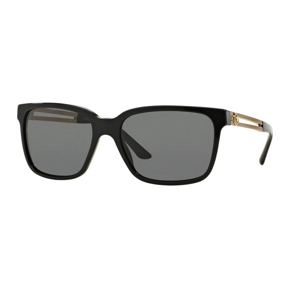 Authentic Versace 0VE4313A GB1//8G BLACK Sunglasses