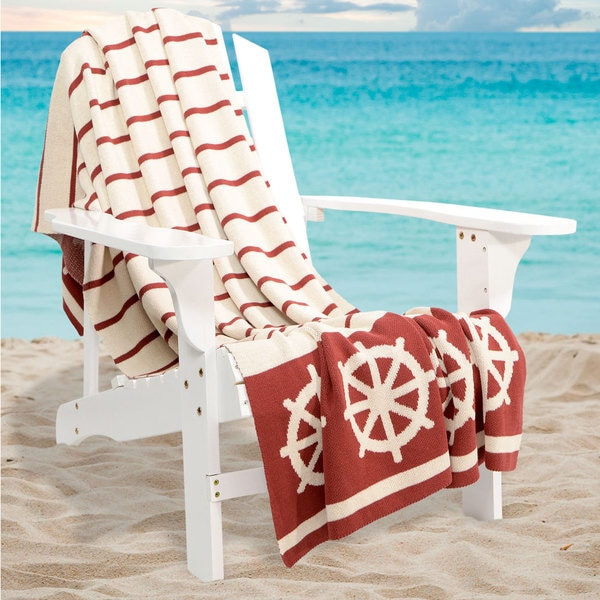 Bedford Cottage Castaway Collection Throw