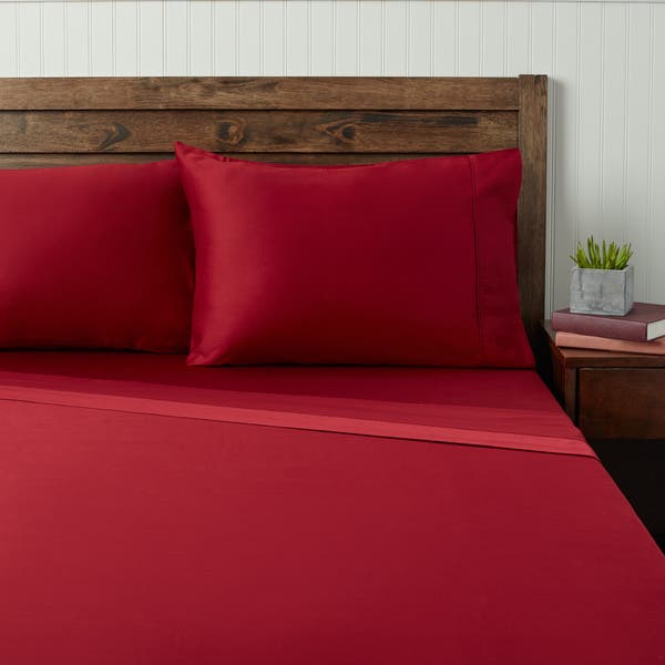Wrinkle Resistant 300 Thread Count Cotton Sheet Set Multiple Colors and Sizes