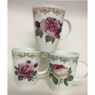 Roy Kirkham Louise Mug - Vintage Roses Set of 6
