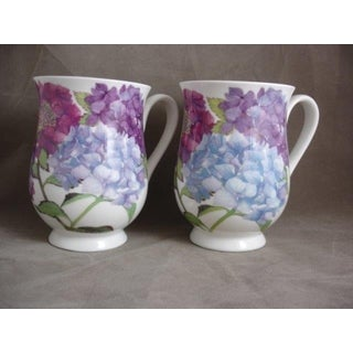 Roy Kirkham Eleanor Mug -Hydrangea Set of 6