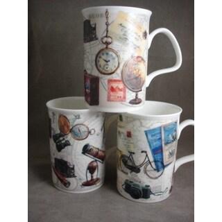 Roy Kirkham Lancaster Mug - Pastimes Set of 6