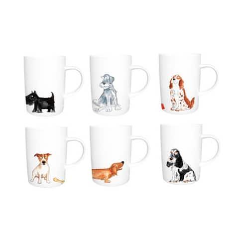 Roy Kirkham Lyric Mug - Dogs Set of 6