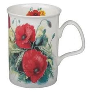 Roy Kirkham Lancaster Mug - Poppy Set of 6