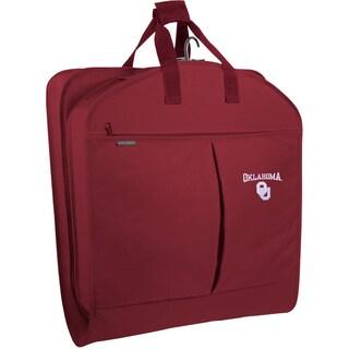 WallyBags Oklahoma Sooners 40-inch Garment Bag With Pockets