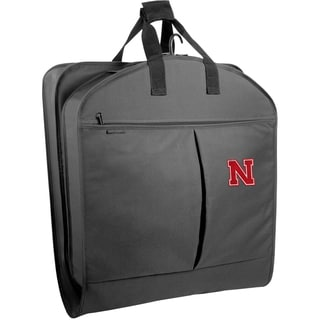 WallyBags Nebraska Cornhuskers 40-inch Garment Bag with Pockets