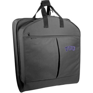 WallyBags Texas Christian Horned Frogs 40-inch Garment Bag with Pockets