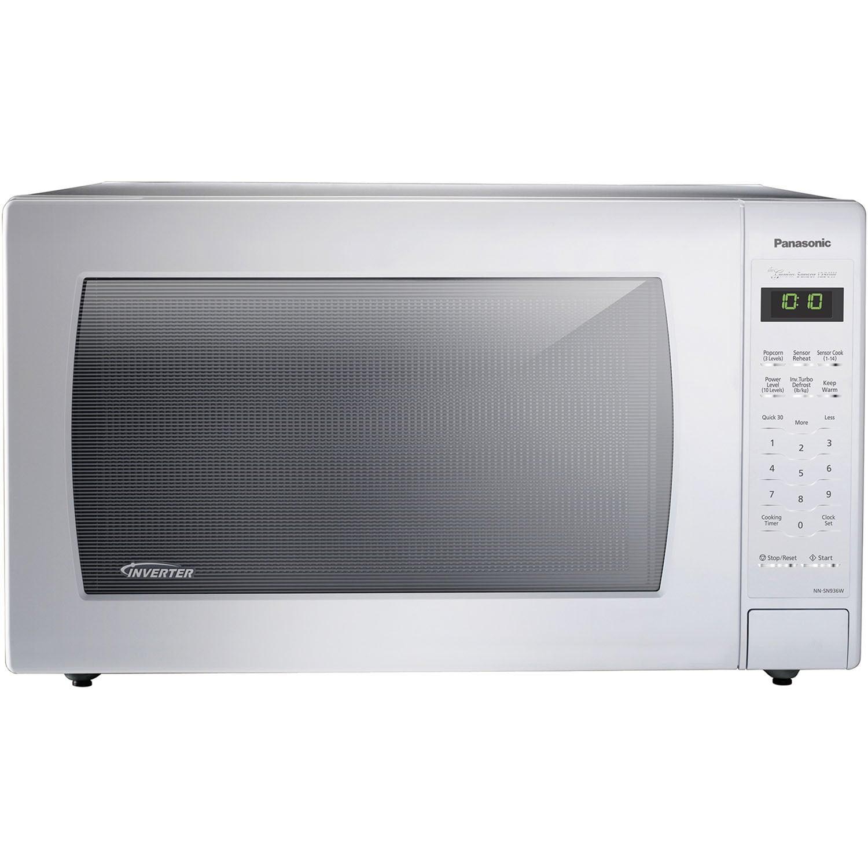 Panasonic 1250-watt Genius Sensor Countertop Microwave wi...
