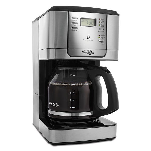 Mr Coffee Jwx9 Rb Advanced Brew 5 Cup Programmable Maker With Stainless