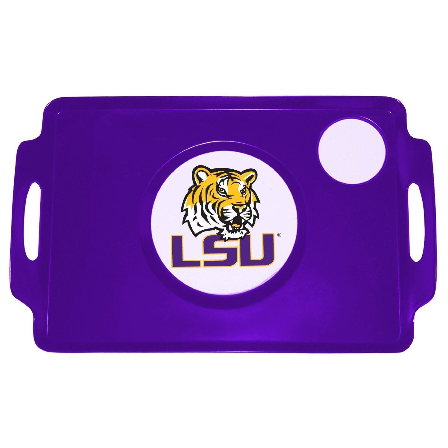Lappers LSU University Logo TV Tray (Orange) (Plastic)
