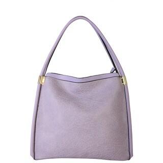 Diophy Women's Faux Leather Zipper-closure Shoulder Tote Handbag