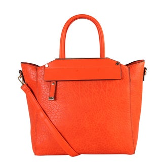 Diophy Women's Faux Leather Zip Closure Handbag