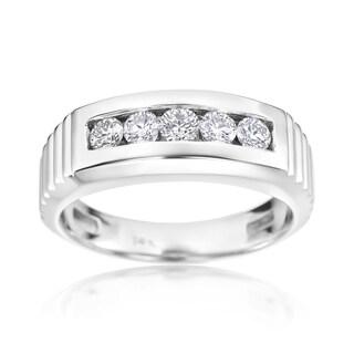 SummerRose 14k White Gold 5/8-carat Diamond