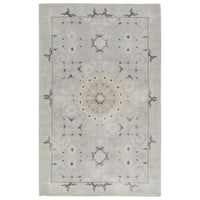 Hand-Knotted Oriental Neutral Area Rug (2' X 3')