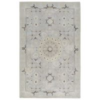 Hand-Knotted Oriental Neutral Area Rug (9' X 13')