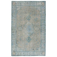 Hand-Knotted Oriental Gray/ Silver Area Rug (9' X 13')