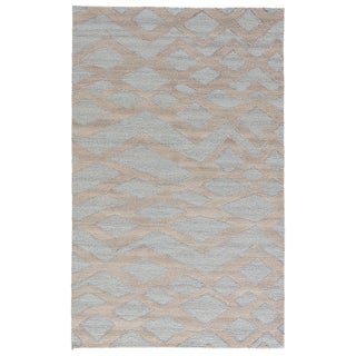 Hand-Knotted Tribal Blue Area Rug (5' X 8')