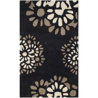 Martha Stewart by Safavieh Petal Mosaic Silhouette Wool Rug (2' 6 x 4' 3)